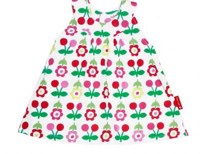 Cherry Baby Dress & Pants Set