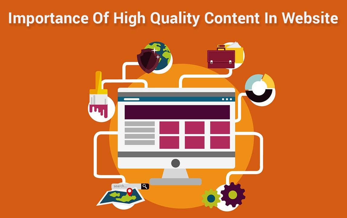 importance of content in website development